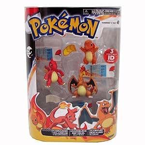 Pokemon evolution three pack charmander charmeleon and charizard toys games - Pokemon evolution salameche ...