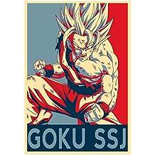 "Poster Dragon Ball ""Propaganda"" Goku SSJ - A3 (42x30 cm)"