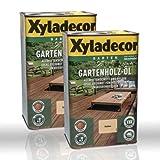 2 x 2,5l Xyladecor Gartenholz-Öl Natur farblos (5 Liter)
