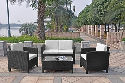 XINRO 13tlg. Deluxe Lounge Möbel Set Gruppe Garnitur Gartenmöbel Lounge