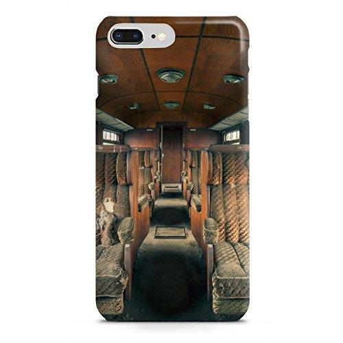 artboxONE Apple iPhone 8 Plus Premium-Case Handyhülle Holzklasse von Michael Schwan