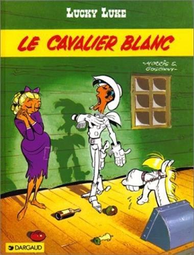 Les indispensables à 31F : Lucky Luke, tome 10 : Le cavalier blanc par René Goscinny