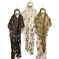 Halloween - Decorazioni per festa di Halloween, scheletri prigionieri pendenti, 91 cm