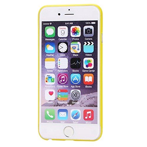 wkae Schutzhülle Case & Cover Ultrathin Kamera Schutz Design Eleganz PP Schutzhülle für iPhone 6Plus & 6splus gelb