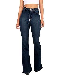 Femme Jean Taille Haute Skinny Push Up Boyfriend Stretch Denim Pantalon 7d46639fcc2