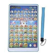 Arabisch-Engelse leesmachine, kinderen Intelligente taalleermachine Multifunctioneel educatief leerspeelgoed Verjaardag/kerstcadeau voor kinderen(Blauw)