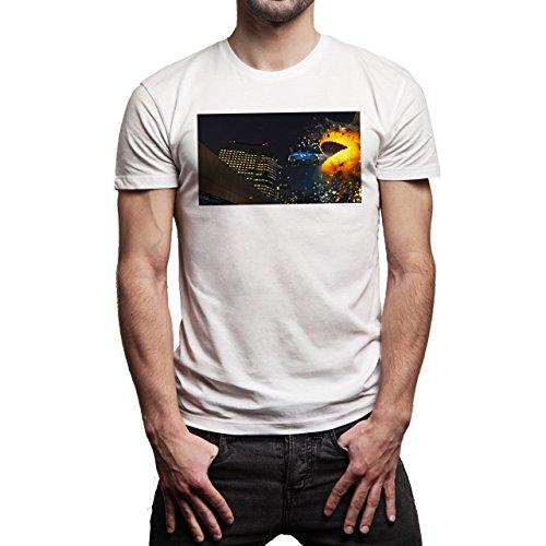 Pixels-Black-Film-Background.jpg Herren T-Shirt Weiß