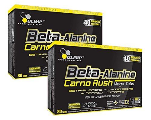 Olimp Beta-Alanin Carno Rush 160 Tabletten, 2er...