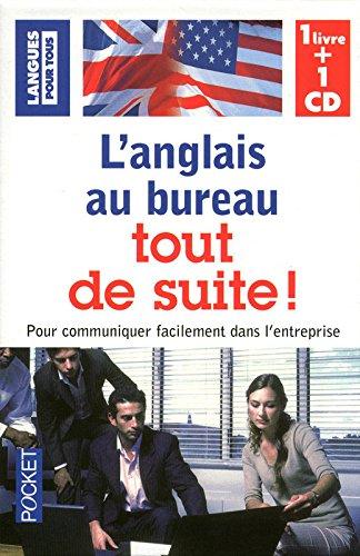 Coffret L'anglais au bureau tout de suite ! (livre + 1CD)