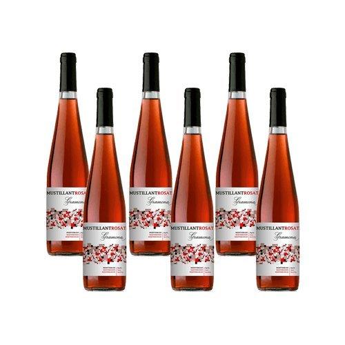 Gramona Vino De Aguja Rosado Mustillant - Vino Rose - 6 Botellas