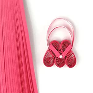 Quill On Quilling Paper, Dark Pink (5mm)