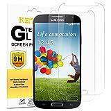 [Pack de 2] Verre Trempé Samsung Galaxy S4 (I9500/I9505),KETTRE film protecteur [0.33 mm Anti-Glare Ultra-Clear] Protecteur d'écran en verre trempé ultra-résistant pour Samsung Galaxy S4 (I9500/I9505) films ** Facile d'installation **