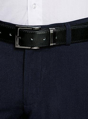 oodji Ultra Herren Klassische Hose Blau (7900O)