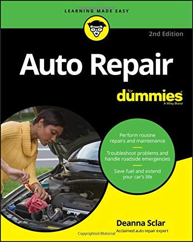 Auto Repair for Dummies por Deanna Sclar