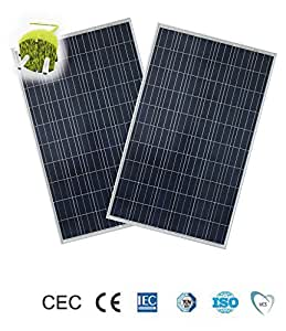 Best For Energy Set of 4 x 250W Photovoltaic Solar Panel 1000 W / M2 / Motorhome