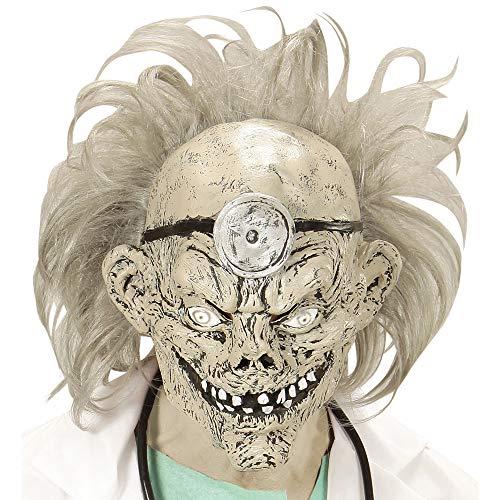 ske Zombiedoktor mit Perücke mens One Size ()