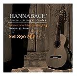 Hannabach 653087 Série 890 Cordes pour Guitare Classique