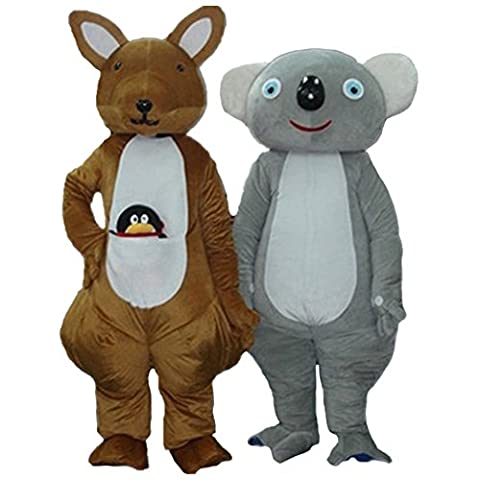 Mascottes Cartoon Costumes - Kangourou et Koala Costume Cartoon Halloween Party