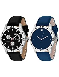 On Time Octus Combo Of 2 Analog Watch For Boys And Mens- OT-207-210