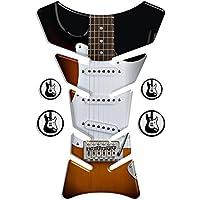 ADESIVI PARASERBATOIO TANKPAD RESINATO EFFETTO 3D - ADESIVI-STICKER 3D compatible ''CLASSIC Fender Stratocaster'