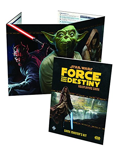 Star Wars: Force and Destiny RPG Game Master's Kit - Rpg Master Game