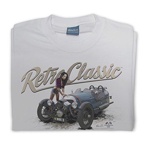 RetroClassic Herren T-Shirt Pacific Grey