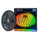 Striscia Led Colore da Sogno con APP/WI-FI, 10m Luci Musicali a LED Strip Sync a Luce Corda 5050 300 RGB Impermeabile Nastri Led Illuminazione a Strisce Flessibile per Interni/Esterni