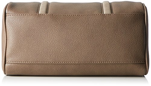 Sansibar Damen Bowling Tasche, 14x21x30 cm Beige (Beige (Taupe))