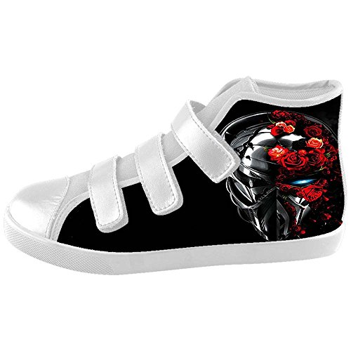 Dalliy Red Rose And Skull Kids Canvas shoes Schuhe Footwear Sneakers shoes Schuhe B