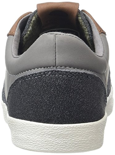 Hummel Deuce Court Winter, Baskets Basses Mixte Adulte Gris (Frost Grey)