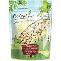 Food to Live Anacardos crudos integrales 453 gramos