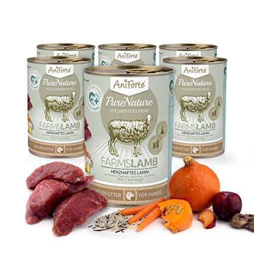 Comida Húmeda para Perros Sin Cereales | 88,2% Carne de Cordero Farms...