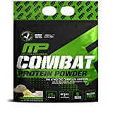 Vanilla, 10 lb. : MusclePharm Combat Protein Powder - Essential blend of Whey, Isolate, Casein and Egg Protein with BCAA's and Glutamine for Recovery, Vanilla, 10 Pound