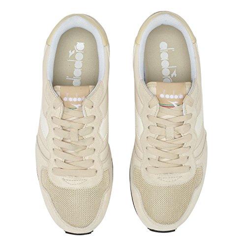 Diadora Camaro, Chaussures de Gymnastique Homme C7399 - LAMB LAINE soupirer-BLANC BEIGE