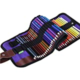 3Cats Art Supplies Professionelle Holz Farbstift Malerei Set, 50 StüCk Erwachsene FäRbung Zeichenstift und Kinder Graffiti Malerei Kunst Bleistift,Geeignet FüR AnfäNger/KüNstler