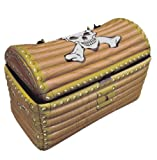 Large Infatable Blow Up Fancy Dress Hen Party Decorations Toy by Lizzy® (INFLATABLE TREASURE CHEST)