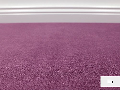 Teppichboden Auslegware Vorwerk Bijou UNI Lila Muster