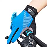 Eizur-Cycling-Gloves-Skidproof-Touchscreen-Thin-Sports-Gloves-Unisex-Spring-Summer-Outdoor-Sunscreen-Adjustable-Full-Finger-Gloves-Bike-Gloves-for-Hiking-Hunting-Climbing