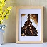 Kreative bilderrahmen,Massivem Holz bilderrahmen,Einfach modern Rechteckige bilderrahmen Puzzle Poster Frame Mehrere Farben-B 14 inch