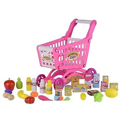Preisvergleich Produktbild Supermarkt Einkaufswagen mit inhalt eddy toys