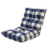 XIAOYAN Klappstuhl Faule Couch Rückenlehne Lange Boden Bett für Home Office 4 Farben 55 * 52 * 55 (Farbe : D)