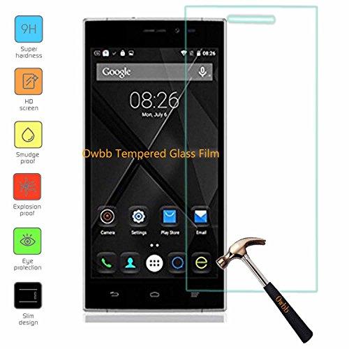 Owbb Glas Bildschirm Schutzfolie für Doogee F5 Smartphone Screen Panzerglas Protector Hartglas Schutzfolie Ultar Clear