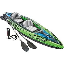 Intex - Kayak - Challenger 2 - Pour 2 personnes - Vert