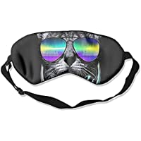 Comfortable Sleep Eyes Masks Cool Cat Pattern Sleeping Mask For Travelling, Night Noon Nap, Mediation Or Yoga preisvergleich bei billige-tabletten.eu