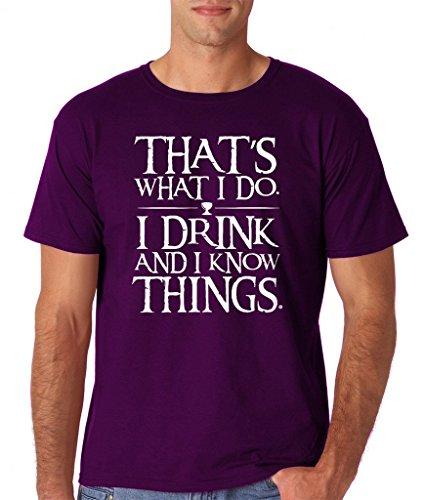 Daataadirect Herren T-Shirt Small Violett