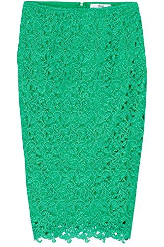FIND Damen Rock Chemical Lace Pencil Grün (Green)