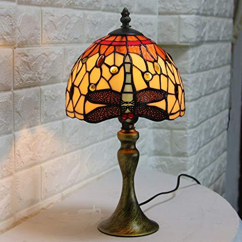 WZJ-TISCHLEUCHTE Europa Und Die Vereinigten Staaten Kreative Einfache Mode Tiffany Tischlampe Blütenblätter Glas Bett Schlafzimmer Dekorative Tischlampe