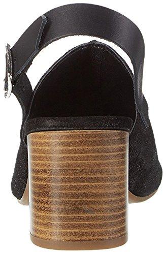 CAFèNOIR  Mxl613, sandales femme Noir