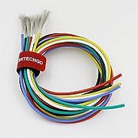 bntechgo 16gauge silicone Filo ad alta temperatura resistente morbido e flessibile 16awg silicone Wire 252di Tined filo di