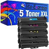 PlatinumSerie® Toner-Patronen XXL kompatibel für HP Color LaserJet Pro M 377 DW M452 NW M477 FNW CF410X/A - CF413X/A ((02) Set 5 Toner)